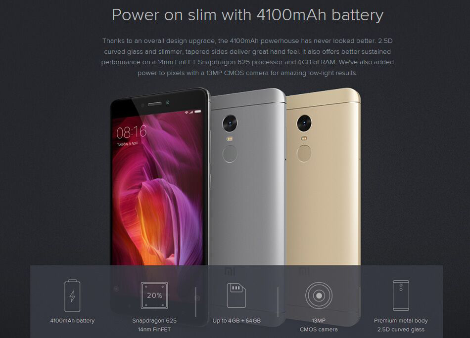 redmi note 4 625 2